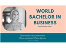 World Bachelor of Business Lisans Programı