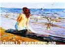 """İzmirli Kızlar, """"Sereserpe'dir. O Sıcaklarda Göğüslerini Ancak, Denize Gösterir."""