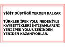 İpek Yolu Üzerinden Ekonomisi Yıkılan Türkler Eski İhtişamlarına Yeni İpek Yolu ile Kavuşuyorlar (1)