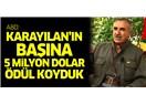 ABD'nin PKK Elebaşılarının Başına Ödül Koyma Numarasından Yayılan Pis Koku