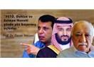 Trump Zor Durumda: Yukarı Tükürse FETO; Aşağı Tükürse Prens Selman!