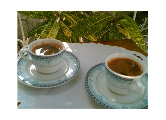 İçilen kahveler