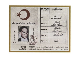 """Soyadı """"Atatürk"""" oldu!"""
