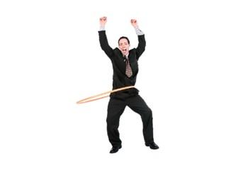 Kendi hula hoop'unuzla kalın