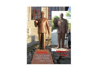 İnebolu ve Mexico City'deki Atatürk heykelleri birbirine benziyor