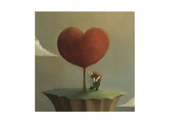 Kırılgan bir yürek...