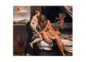 Çapkın Zeus ile kıskanç Hera'nın öyküsü