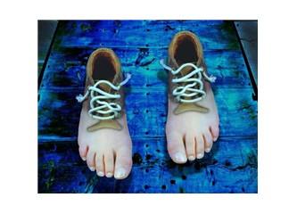 Pille çalışan ayakkabı