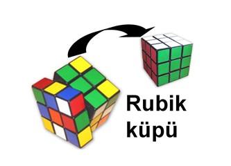 Seksenli yıllarda Rubik küpü