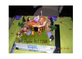 doğumgünü kutlaması