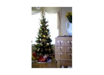 Biz ağacımızı süsledik sıra Noel Baba'da