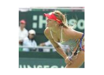Çığlıklarla Sharapova