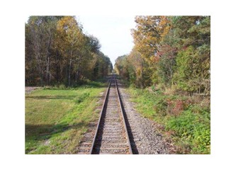 İki tren rayı