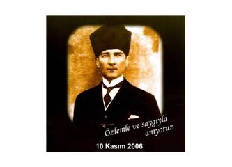 On Kasım' da Atatürk' ü anlatmak