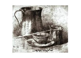 Şöyle, bol köpüklü mis gibi bir Türk kahvesi…