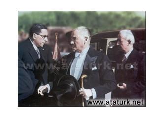 Vatan toprağı kutsaldır. Kendi kaderine terkedilemez! M. Kemal Atatürk