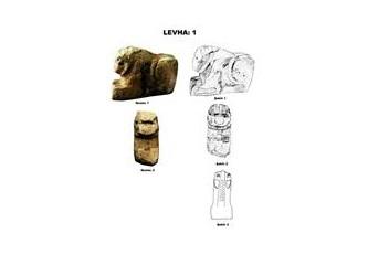 Gaziantep Arkeoloji Müzesine yeni gelen bir aslan yontusu