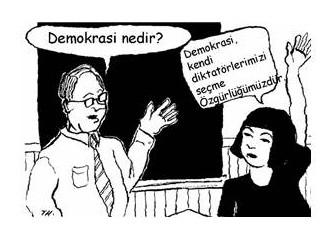 Demokrasi kavramı üzerine bir derleme...