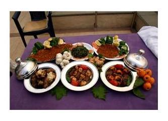 Gaziantep ramazan sofrası