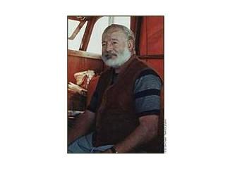 Yazarları tanıyalım (2): Ernest Hemingway