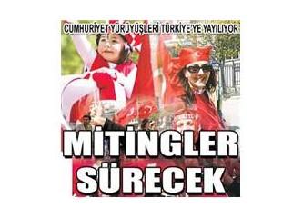 Atatürk'ün kızları çağladı Çağlayan'da dün...