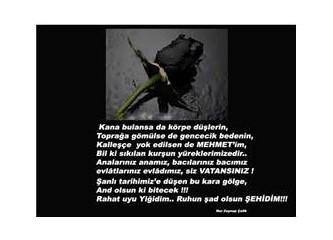 Ruhun şad olsun Mehmet'im..