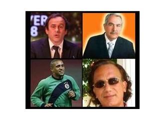 Roberto Carlos ve M. Platini'ye dekolte mektup