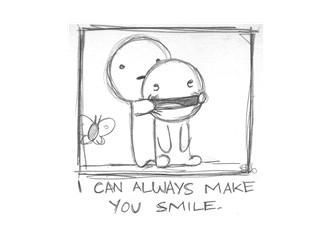 Her zaman gülümseyebilirim...
