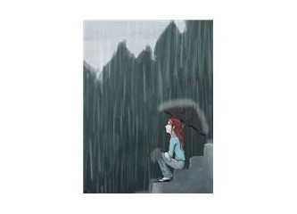 Yağmur yağıyor, içim kıpır kıpır