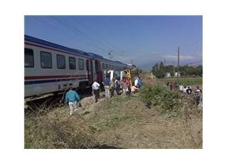 Pamukova'da tren kazası: 'Oradaydım'