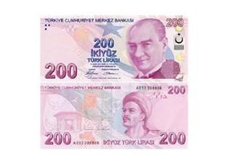 Türk Lirasında değişen resimler...