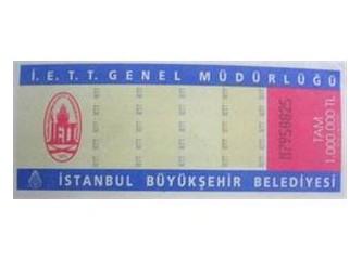 Bilet kullanmak nostalji oldu