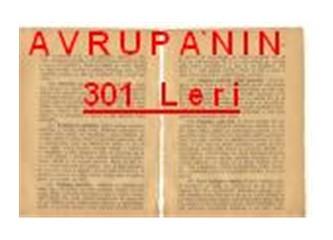 Avrupa' nın... 301 leri