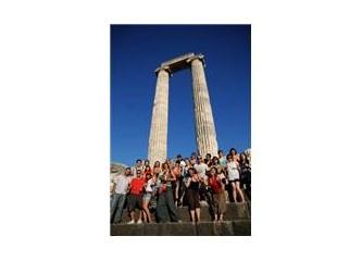Festival Meandros'08 günlükleri, turist gençler
