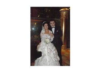 Bir ''Melek'' Evlendi
