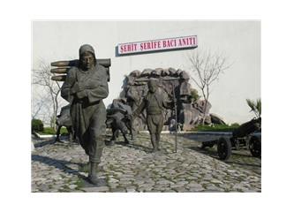 Şehit Şerife Bacı Anıtı