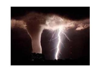 Bodrum'da fırtına...