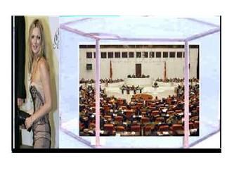 Bütün siyasetçiler Kate Moss'u taklit etsin!!!