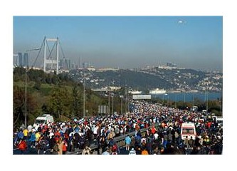 29. Avrasya Maratonu terör mağdurları için koşulsun