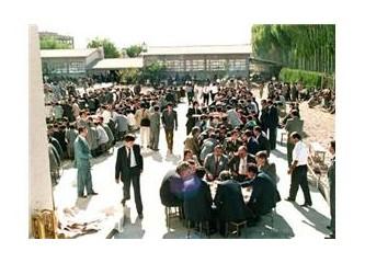 Çumra'da düğün yemeği