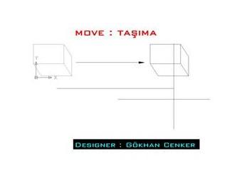 Size Autocad Öğreteyim mi ? : Move , Copy , Offset , Rotate