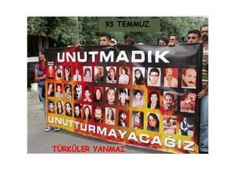 Türküler yanmaz