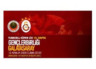 Ankara 0 Galatasaray 6!