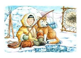 Kutupların taçsız kralları, Eskimolar