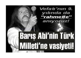 Barış Manço'nun Türk Milleti'ne vasiyeti