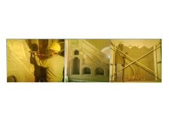 Tarihi ve modern binaların restorasyon ve cephe işleri