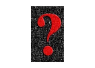 """Sadakat,  """"Çengel""""  şeklindedir, yani şöyle: """"?"""""""
