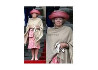 Holanda Kralıçesi Beatrix' in Türkiye ziyareti.