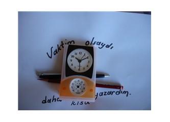 """""""Vaktim olsaydı, daha kısa yazardım"""""""