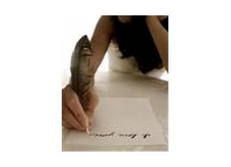 Öyle bir şiir yazmalıyım ki...